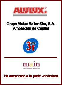 Alulux Roller Star