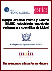 Baring Private Equity Partners España - Grupo Llobell