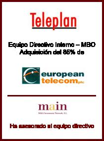 European Telecom plc.