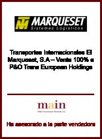P&O Trans Europen Holdings - El Marqueset