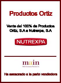 Productos Ortiz - Nutrexpa